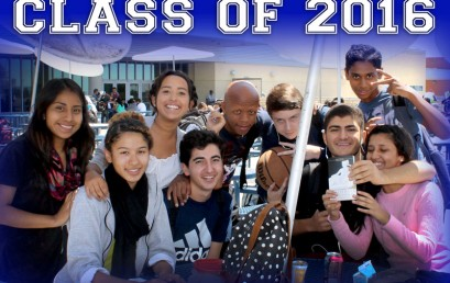 Welcome New Seniors class of 2016