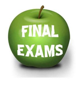 1st semester Final Exams
