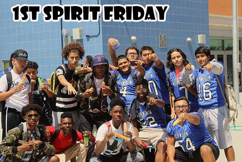 1st Spirit Friday at HBHS 2016-2017