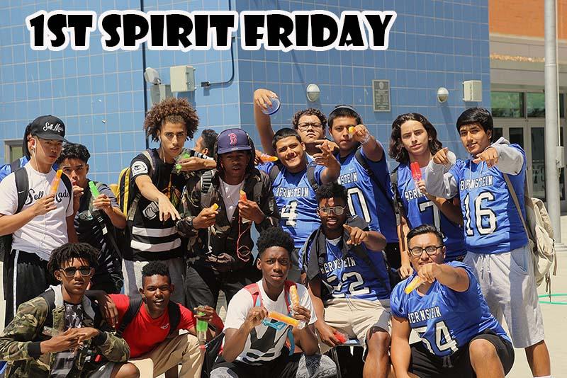 1st Spirit Friday at HBHS 2016-2017