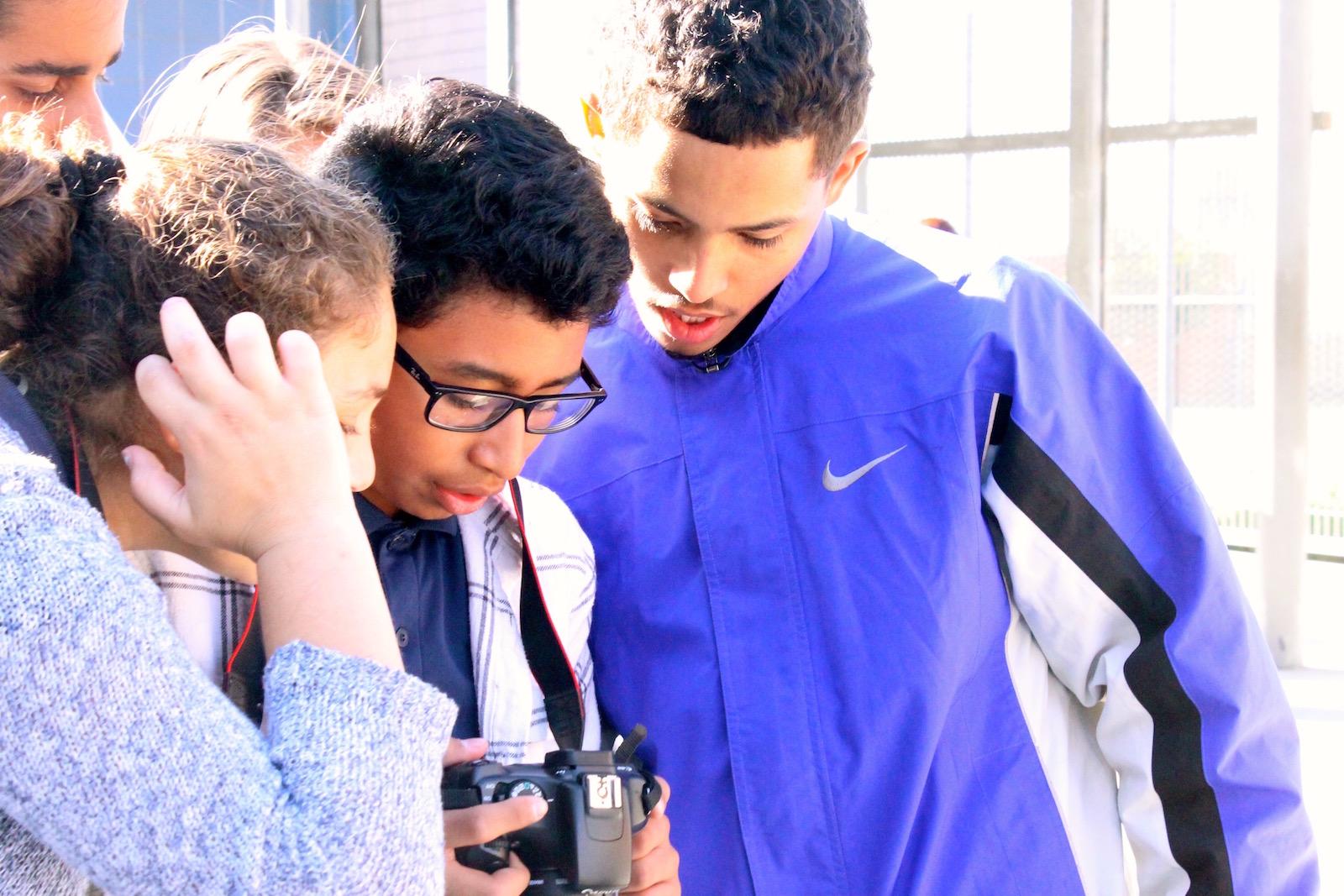King Middle School & Laurel Elementary School Visit HBHS