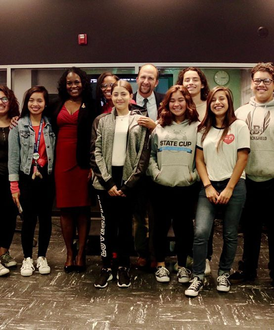 Lausd School Board Members and Superintendent create PSA with Bernstein's Own Dragon Media Group