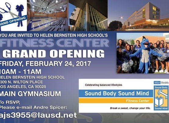 Bernstein Fitness Center Grand Opening