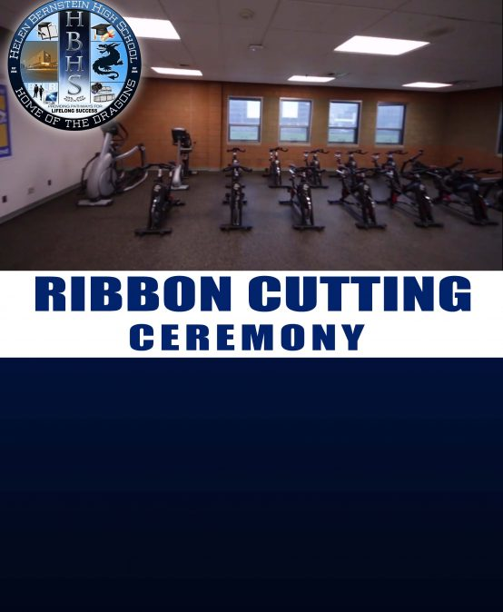 """Ribbon Cutting Ceremony for the new """"Fitness Center"""""""