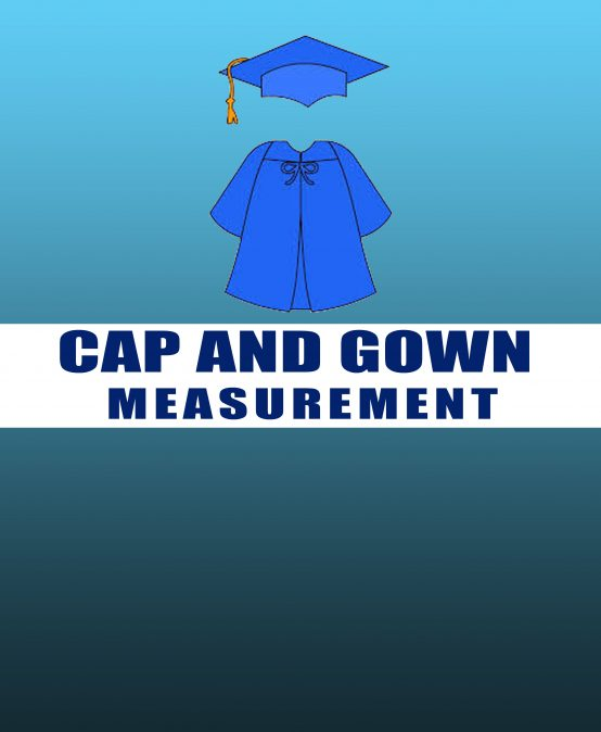 Cap and Gown Measurements