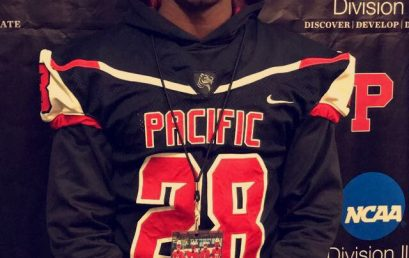 Christopher Goosby full scholarship to Pacific University