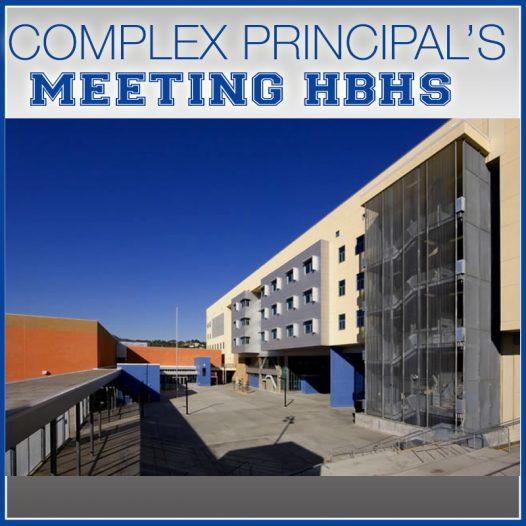 Complex Principal's Meeting
