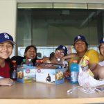 Students Visit The Dodger's Stadium