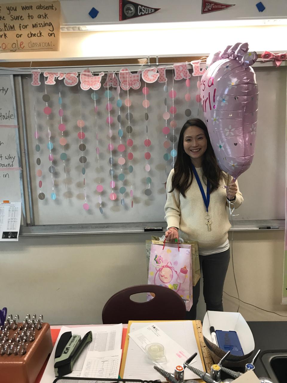 Congrats Mrs. Noh!