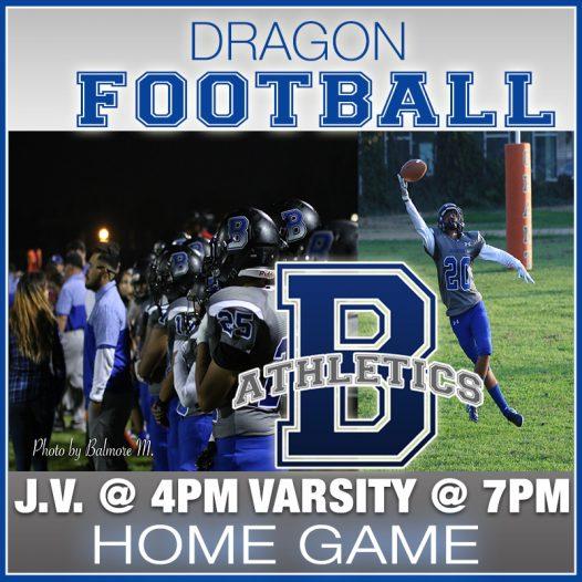 Football Vs. Hawthorne Academy