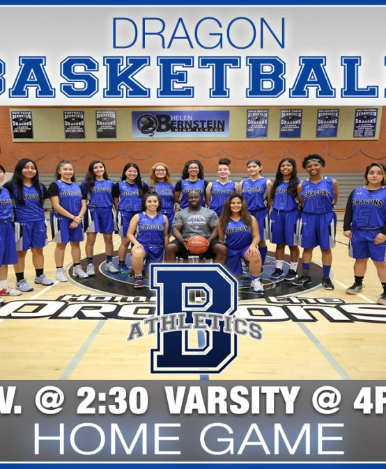 Girls Basketball -vs- Hollywood 2/4:30PM