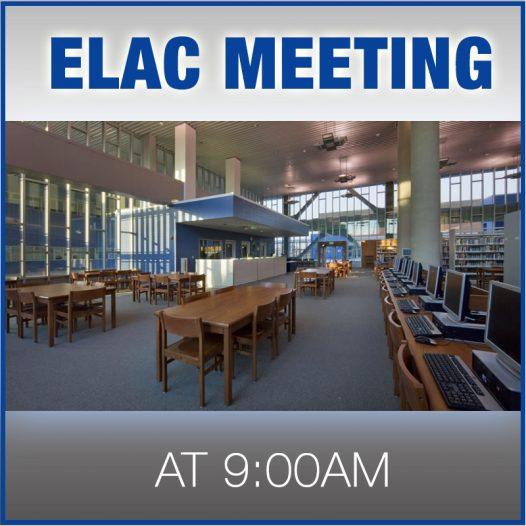 ELAC Information Meeting