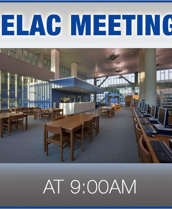 ELAC Information Meeting