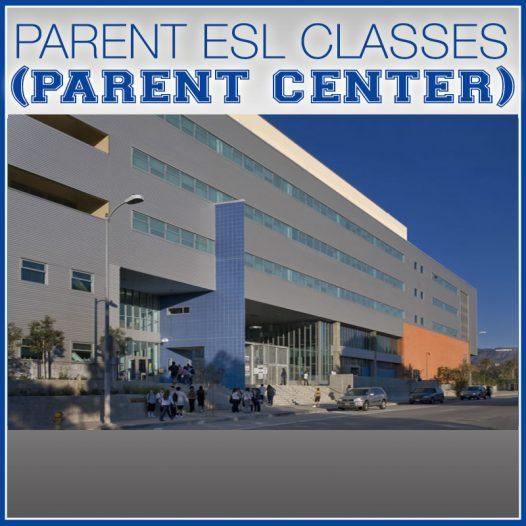 Parent ESL Classes (Parent Center) @ 8:00-10:00AM