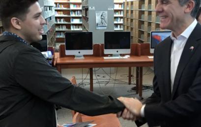 Mayor Garcetti brokers new partnership with Netflix and Bernstein High School