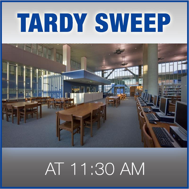 tardy sweep