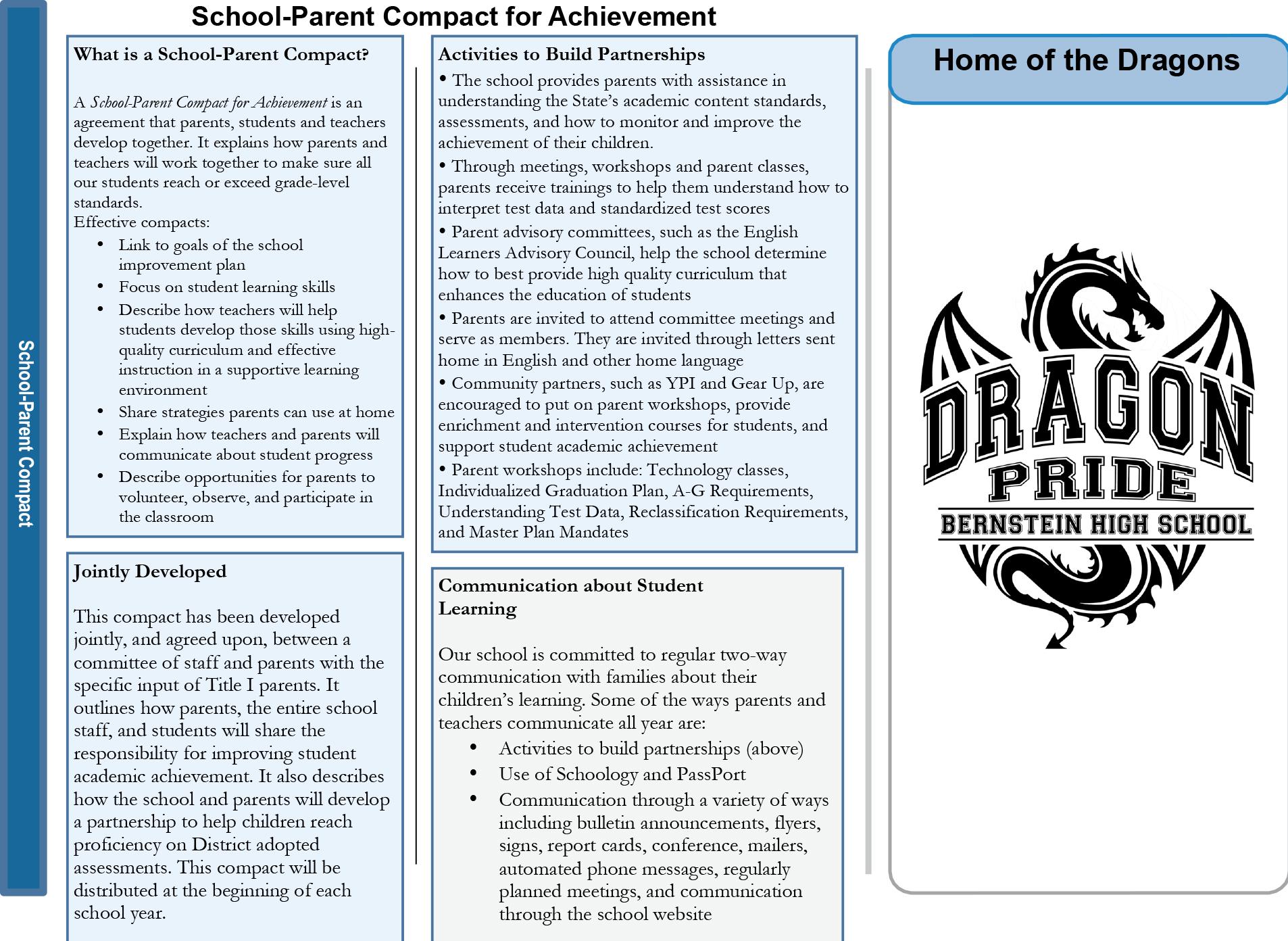 SchoolParent Compact HBHS 2018-2019