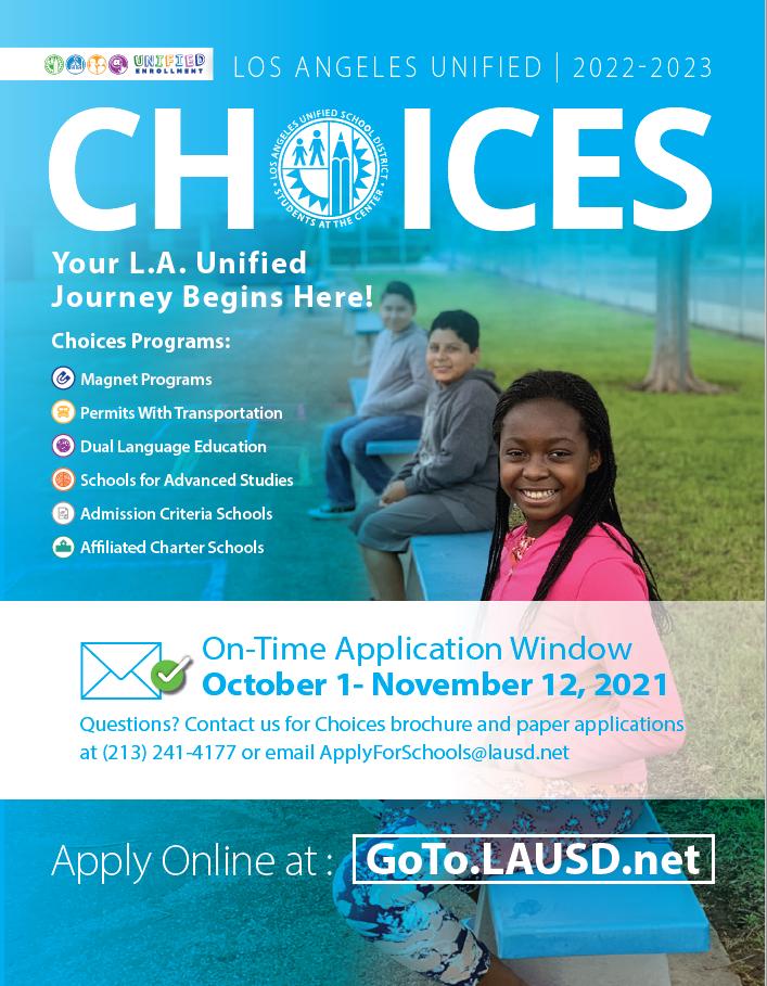 LAUSD 2022-2023 Choices