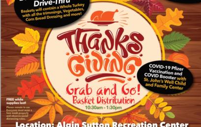 Thanksgiving Grab-and-Go Basket Distribution